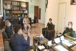 جلسه تعامل بهزیستی با سپاه ناحیه شهرستان شهریار برگزار شد