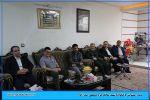 دیدار و دلجویی شهردار شهریار و رئیس فدراسیون کشتی از خانواده شهید مصطفی صدرزاده