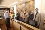 دیدار شهردار و اعضای شورای اسلامی اندیشه از مراکز درمانی شهر