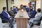به مناسبت هفته تربيت بدنی و ورزش صورت گرفت: دیدار اعضای شورای اسلامی شهر با رئیس اداره ورزش و جوانان شهرستان قدس