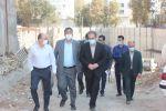 بازدید میدانی شهردار شهریار از پروژه های عمرانی و خدماتی