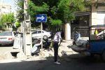 مهندس مختاری شهردار قدس: با نصب علائم ترافیكی خیابان امام علی(ع) شهرقدس یك طرفه خواهد شد