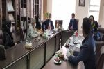 بازدید نمایندگان کمیساریای عالی سازمان ملل در امور پناهندگان از پروژه بررسی شیوع بیماری هپاتیت B و C در جمعیت اتباع کشور افغانستان در شهرستان شهریار
